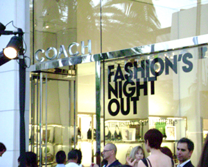 Beverly Hills Celebrates Fashion Night Out